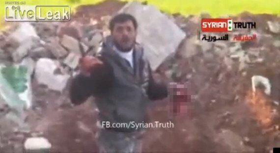 Syrian Rebel Leader Abu Sakkar Filmed Cutting Out And 'Eating' Soldier's Heart (GRAPHIC VIDEO,