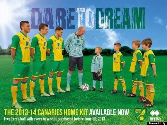 Norwich City Unveil 2013-14 Home Kit