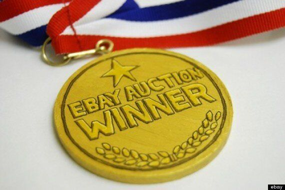Ebay Auction Winner Medal Will Show Off Your Online Prowess To Friends