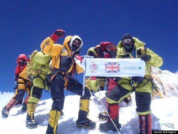 David Tait, NSPCC Fundraiser, Scales Everest For Fifth