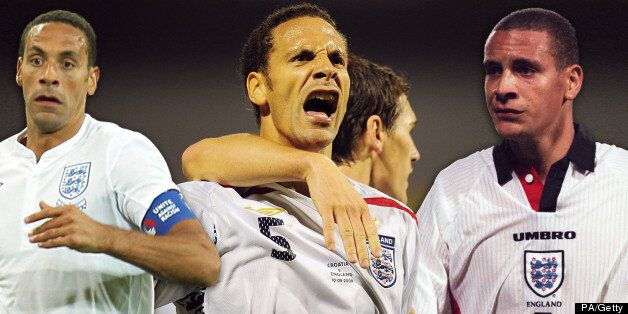 Rio Ferdinand, Former England Defender, Retires From International