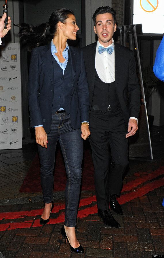 Melanie Sykes Rocks A Suit At Fashion Launch As She Re-Plans MI5 Style Wedding