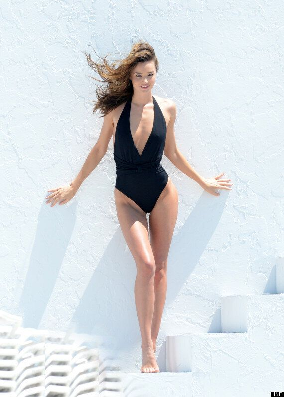 Miranda Kerr Strips Off To Promote Her, Errrm, Make Up Range