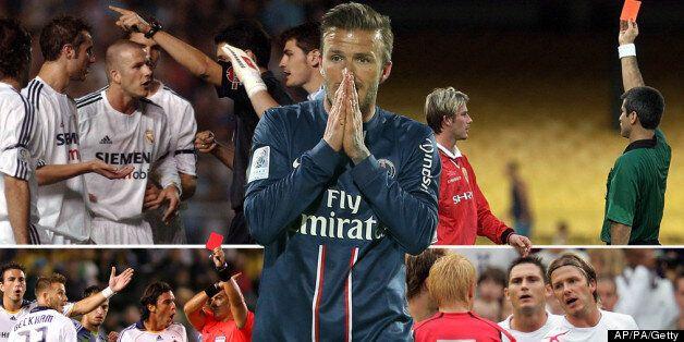 David Beckham Retires: The Red