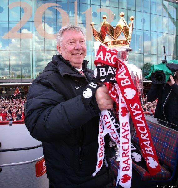 Sir Alex Ferguson Presented With Hairdryer Cake Ahead Of