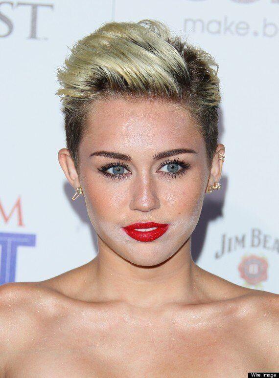 Miley Cyrus Has Make Up Disaster At Maxim Hot 100 Party