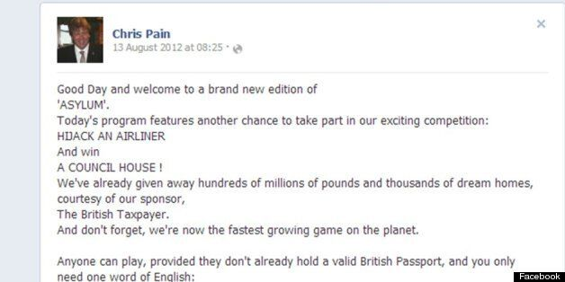 Ukip Councillor Chris Pain Involved In Second Facebook Race