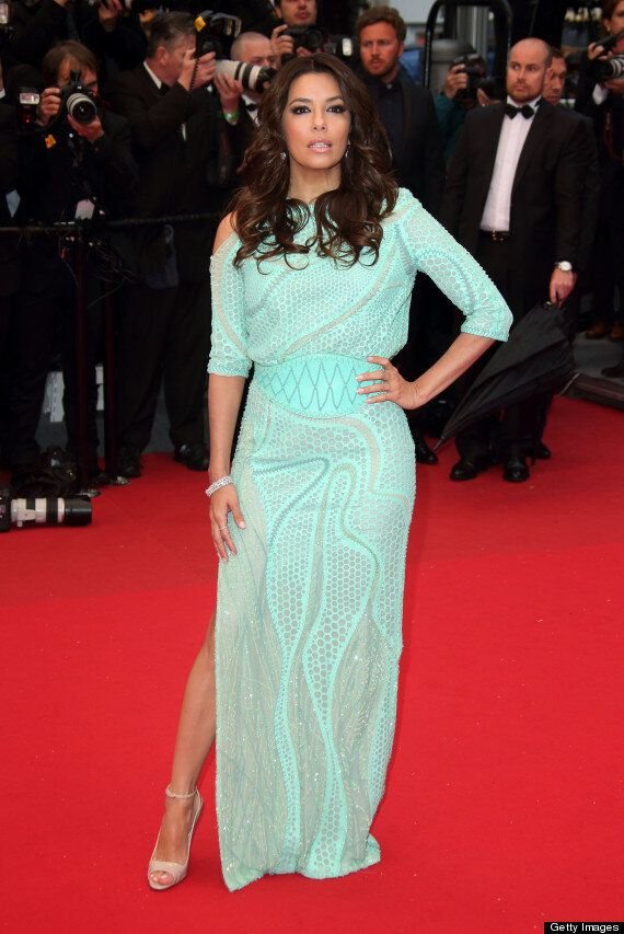 Eva Longoria Has Major Wardrobe Malfunction By Flashing Herself At Cannes Film Festival