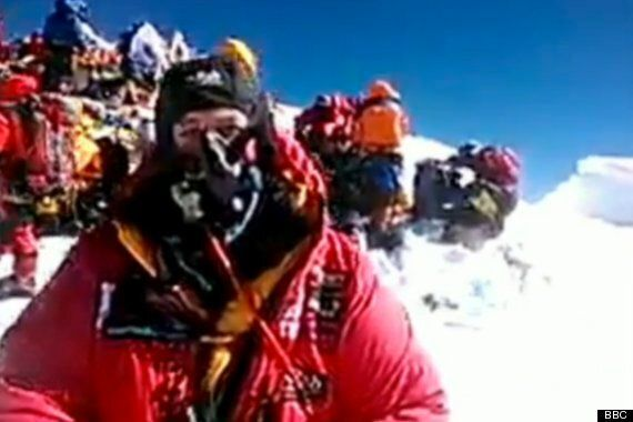 First Ever Smartphone Video Call From Peak Of Mount Everest Upsets