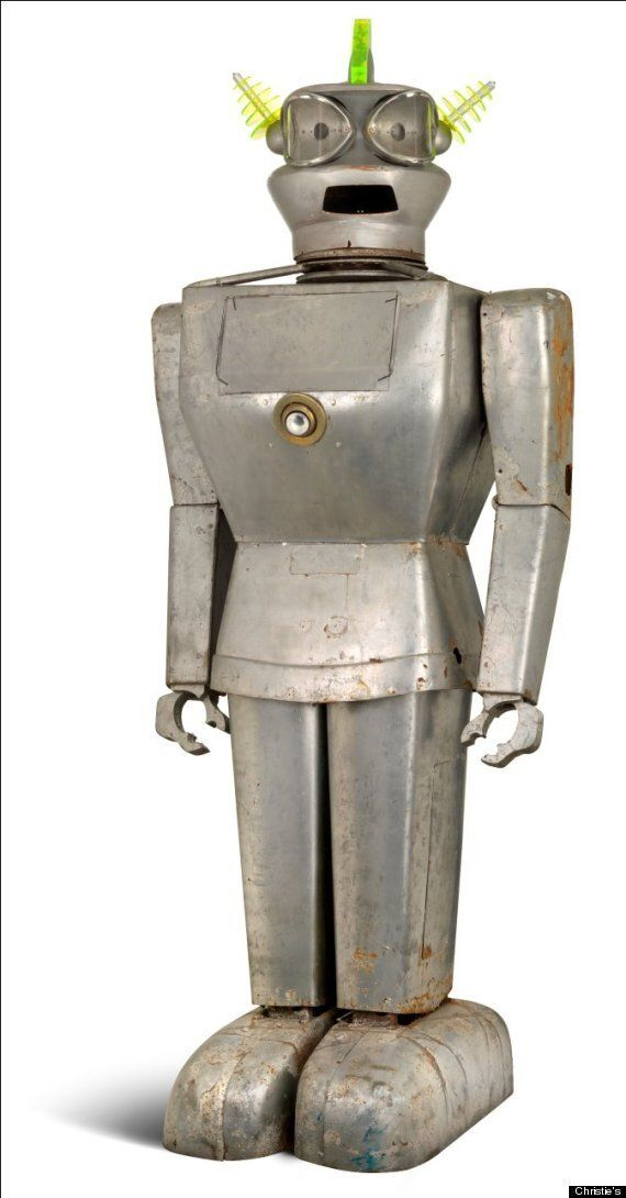 Cygan, 9-Feet-Tall Humanoid Robot From 1957, Up For Auction At Christie's
