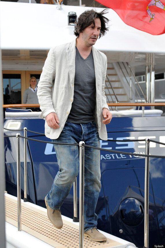 Keanu Reeves Cuts A Scruffy Figure At Cannes Film Festival