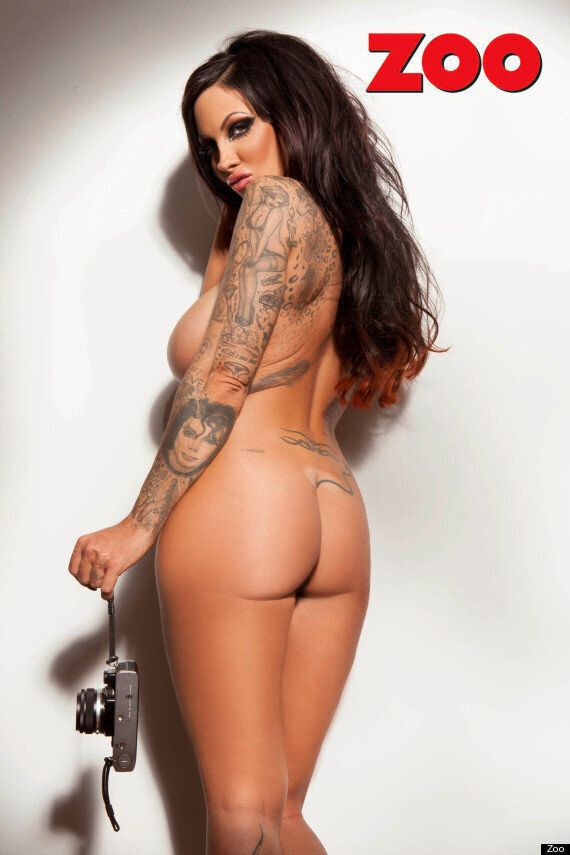 Jodie Marsh Reveals A-Lister Sex Encounters As She Strips Naked For Zoo Magazine