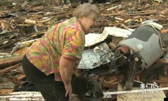 Oklahoma Tornado 2013: Survivor Barbara Garcia Mourns Loss Of Dog – Just As He Is Found In Rubble