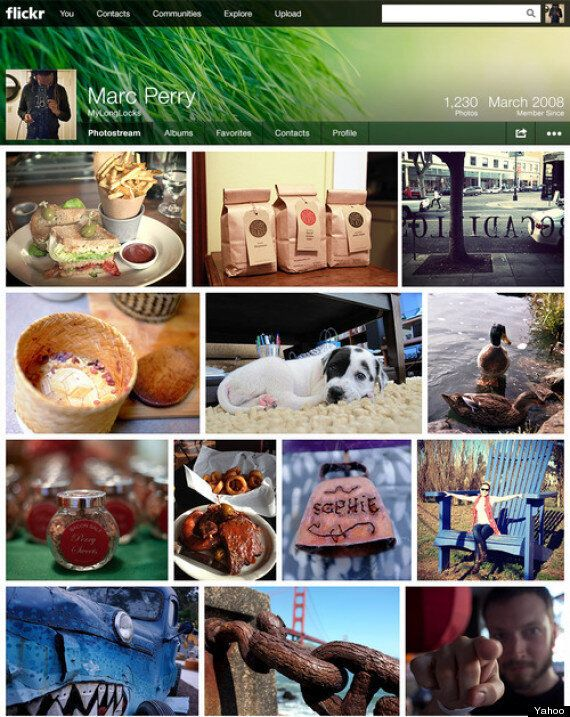 Yahoo Relaunches Flickr On Same Day As Tumblr Deal