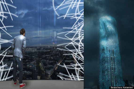 'Strawscraper' Tower In Stockholm Could Use 'Hairs' To Generate Electricity