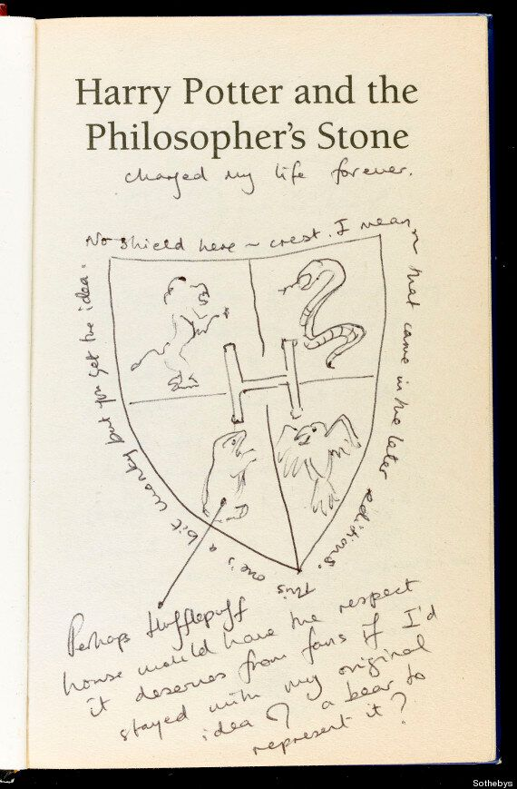Harry Potter And The Philosopher's Stone Book Sells For £150,000