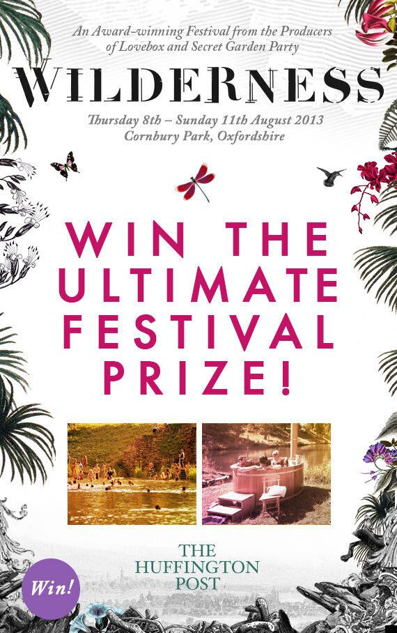 Wilderness Festival Competition: Win Boutique Camping Weekend Tickets, A Banquet Feast And Relax In A...