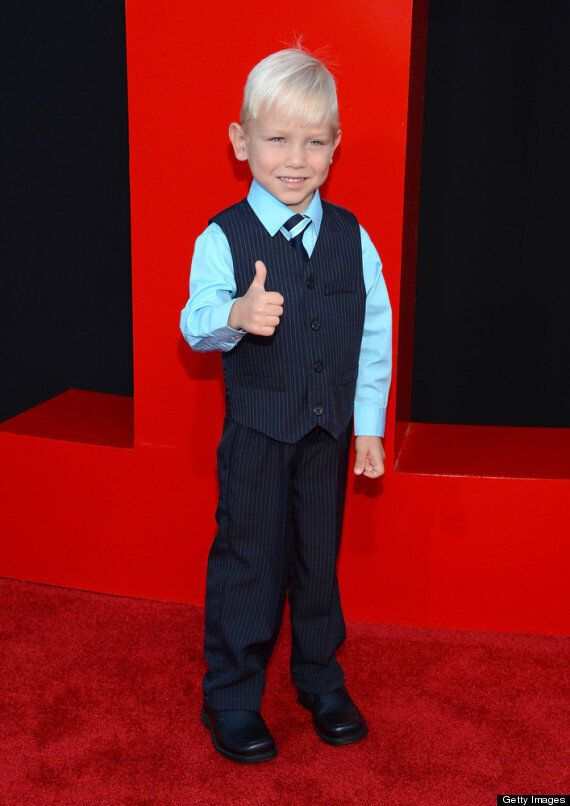'Hangover' Baby Grant Holmquist Is All Grown Up At 'The Hangover 3' Premiere