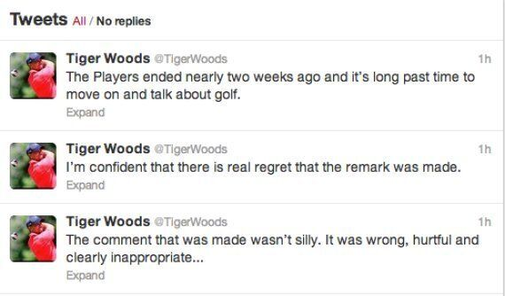Sergio García 'Feels Sick' About Tiger Woods 'Fried Chicken' Remark