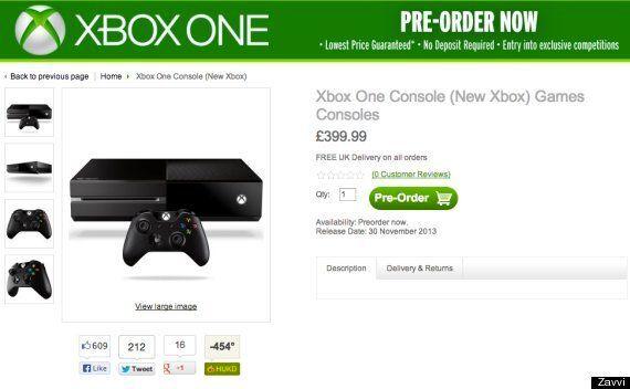 Xbox One UK Release Date: Zavvi Says 30 November For Microsoft's New