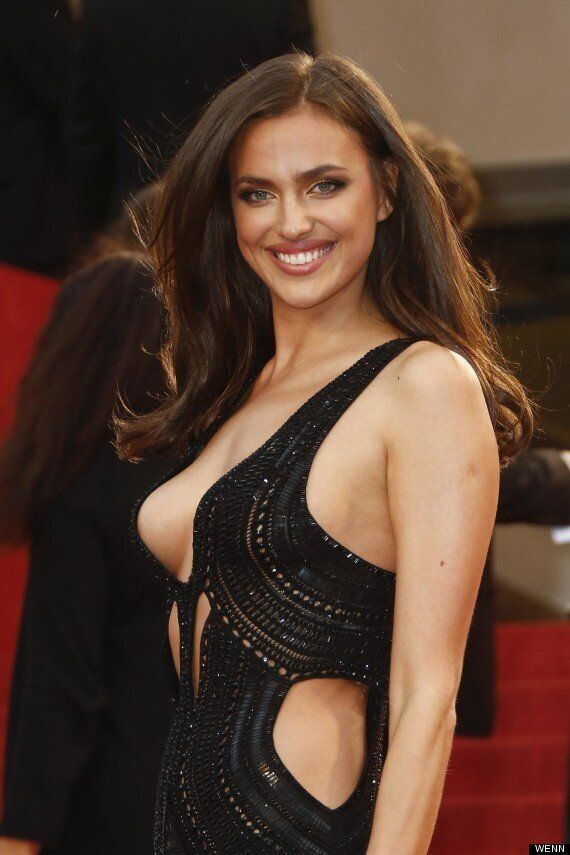 Irina Shayk Takes Side Boob To A Whole New Level At Cannes