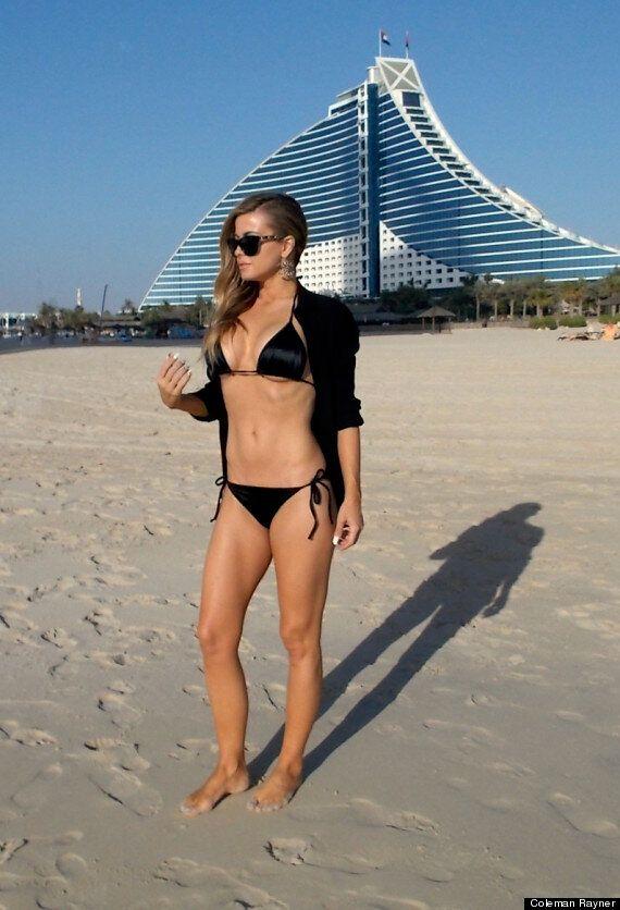Carmen Electra Proves She's Still Got Her 'Baywatch' Body During Bikini Break In Dubai