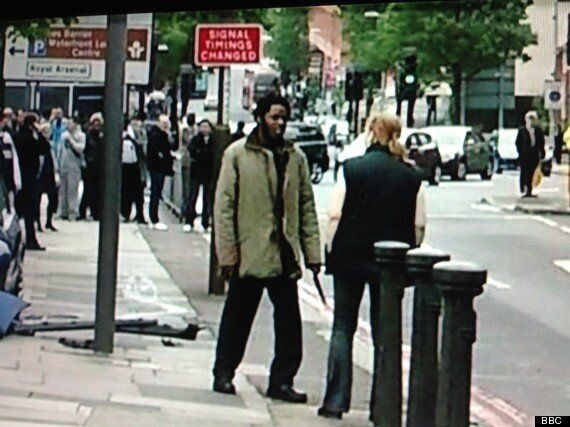Woolwich Attack: Woman Pictured 'Praying For & Comforting' Dying