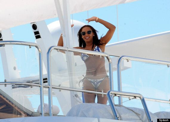 Mel B Soaks Up The Sun In Bikini On A Yacht In Cannes