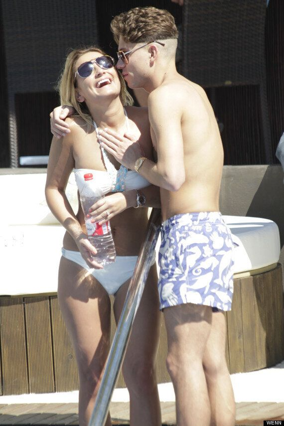 TOWIE's Joey Essex And Sam Faiers Share A Kiss On Set In Marbella Following Quit Rumours