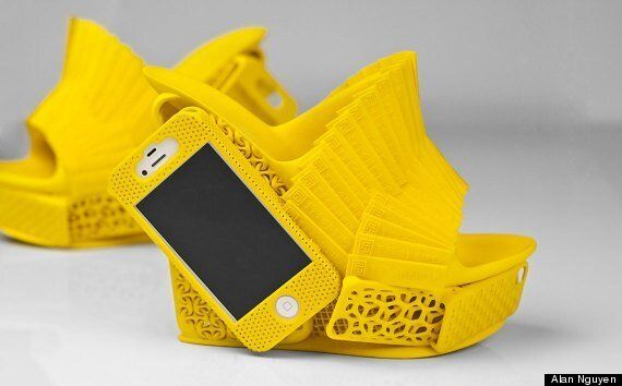 3D Printed iPhone Holder Shoes Are The Footwear Of Choice For...