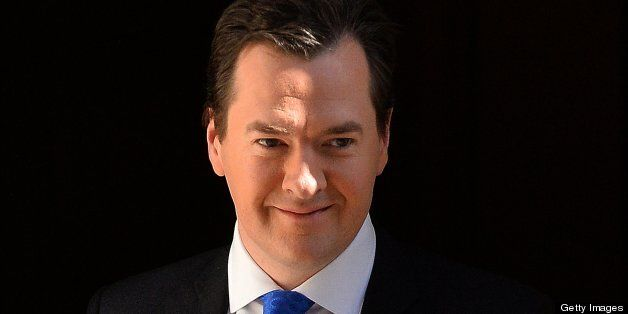 Seven government departments have agreed to spending cuts, George Osborne