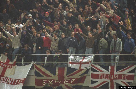 Republic Of Ireland Vs England: Lansdowne Road Riot 1995