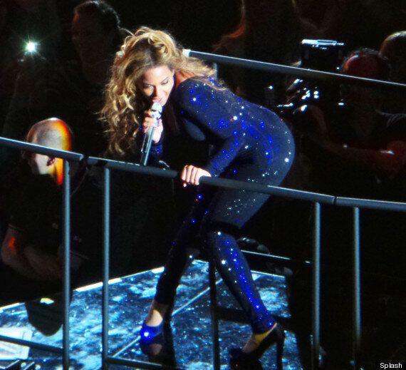 Beyonce Slapped On Bum At Copenhagen 'Mrs Carter Show'