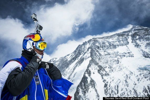 Everest 60th Anniversary: Valery Rozov Makes World's Highest BASE Jump Off Mountain