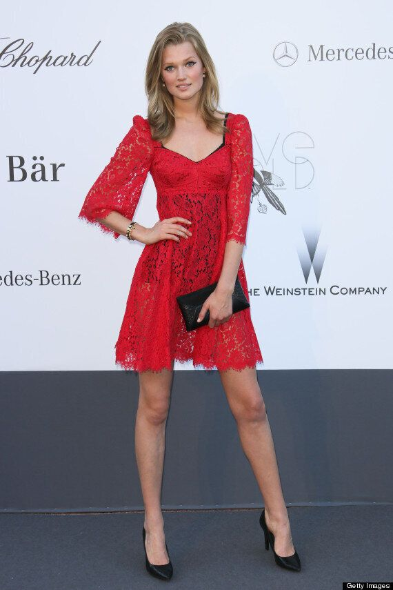 Leonardo DiCaprio Reportedly Dating Victoria's Secret Model Toni Garrn