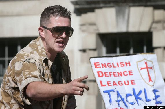 EDL's Tommy Robinson