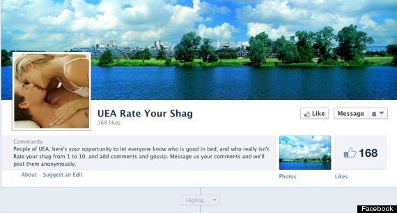Facebook Removes Rate Your Shag Groups As Students Face Disciplinary