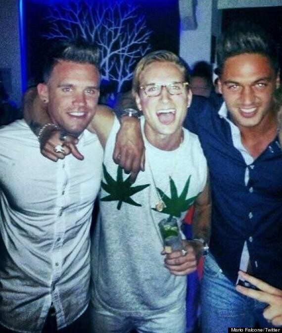 Made In Chelsea's Proudlock Joins TOWIE's Mario Falcone And Geordie Shore's Gaz In Marbella