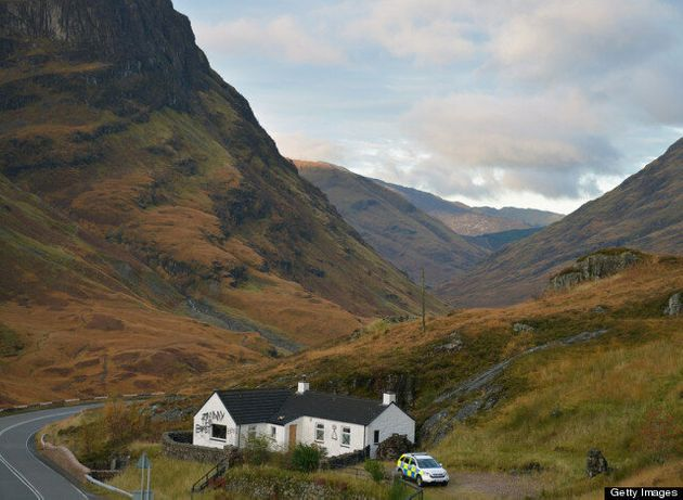 Jimmy Savile's Glencoe Cottage Put Up For Auction For