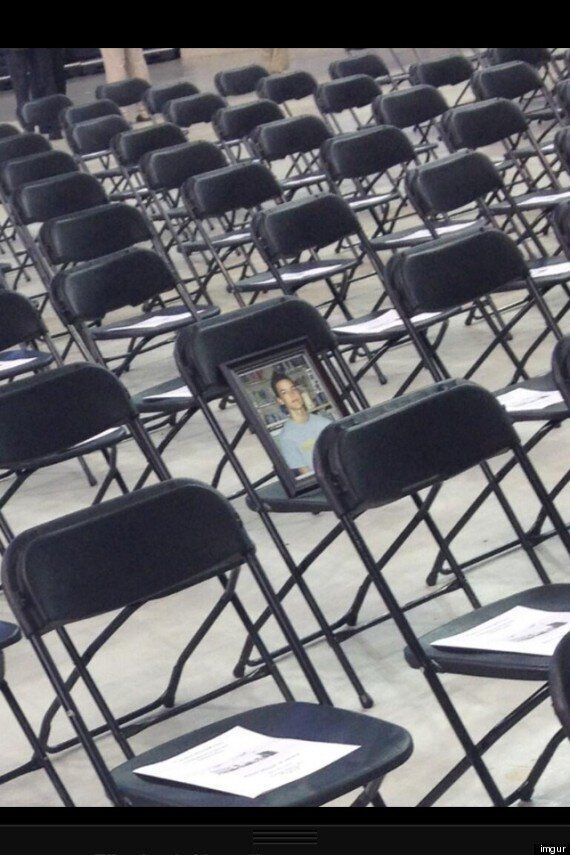High School Saves Graduation Seat For Student Who Lost His Life To Cancer
