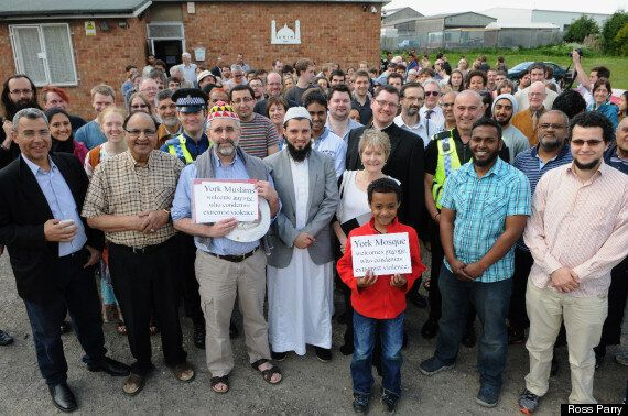 York Mosque Elder On EDL Meeting: 'I Didn't Dare Tell Them St George Was A