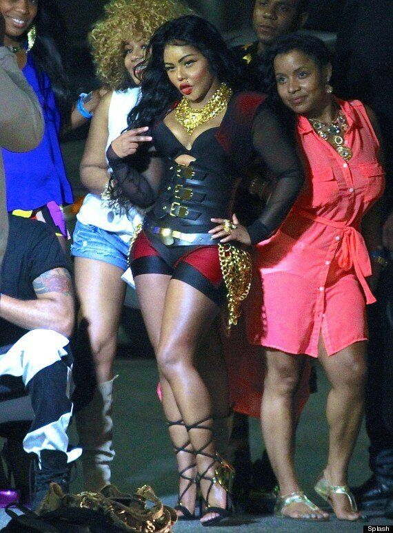 Lil Kim (And Her Face) Are Plastic Fantastic At Hot 97 Summer Jam
