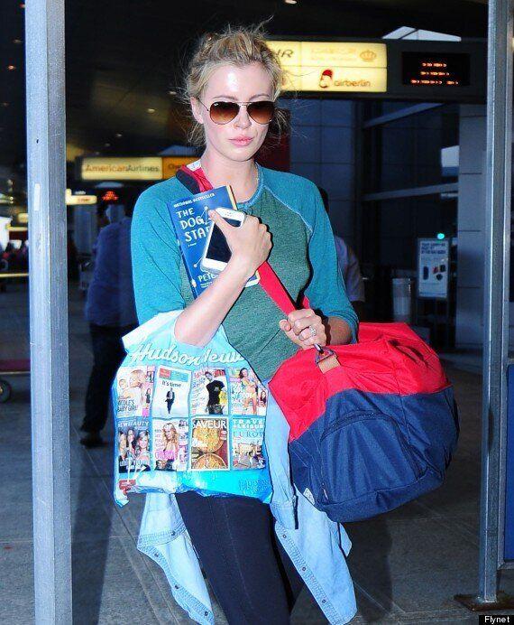 Ireland Baldwin Is The Spitting Image Of Mum Kim Basinger At New York JFK Airport