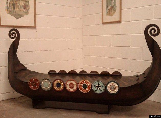 Weird Coffins On Display In Nottinghamshire By Ghana Craftsman Paa Joe