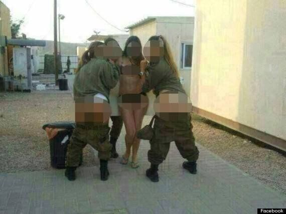 Israeli Soldiers Posing In Raunchy Facebook Photos Disciplined For 'Unbecoming
