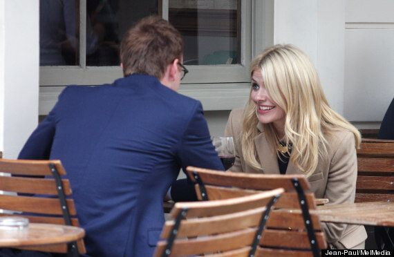 Holly Willoughby Quaffs Champagne And Puffs On A Cigarette On 'Date' With Made In Chlesea's Francis Boulle