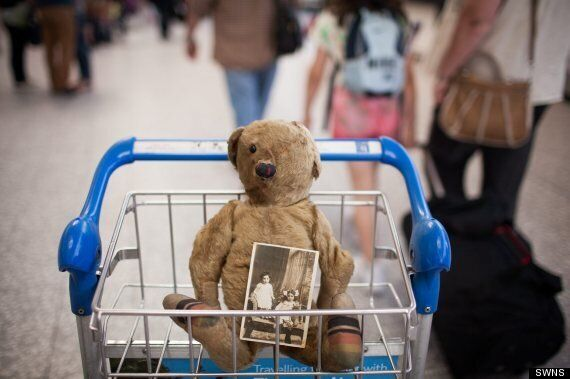 100-Year-Old Teddy Bear Abandoned At Bristol Airport: Help Us Find His Owner!