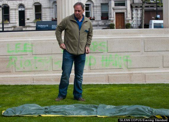 London War Memorial Targeted By Vandals For Second Time In A