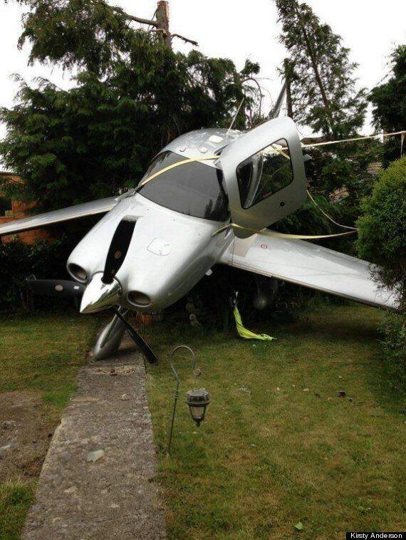 Plane Crashes Into Back Garden In Cheltenham, 76-Year-Old Pilot Injured