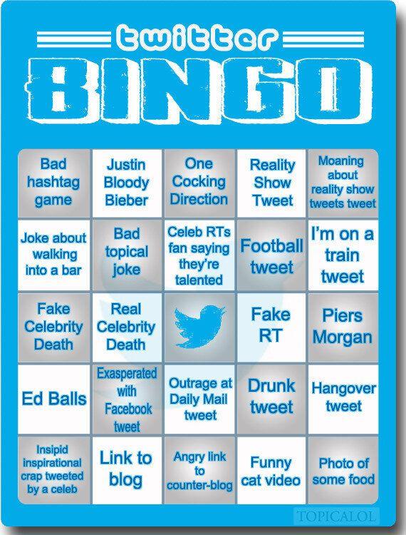 The Essential Twitter Bingo